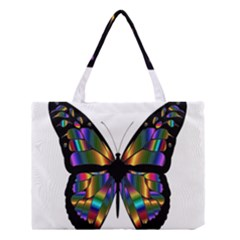 Abstract Animal Art Butterfly Medium Tote Bag