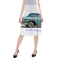 1958 Oldsmobile Super 88 J2 2a Midi Beach Skirt