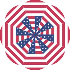 American Flag Folding Umbrellas