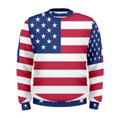 American Flag Men s Sweatshirt