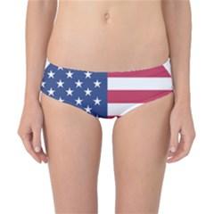 American Flag Classic Bikini Bottoms