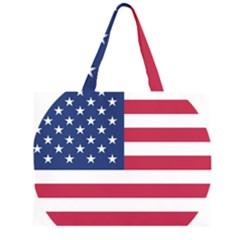American Flag Large Tote Bag