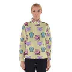 Animals Pastel Children Colorful Winterwear