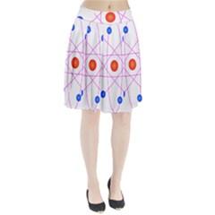 Atom Model Vector Clipart Pleated Skirt