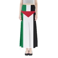 Palestine flag Maxi Skirts