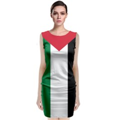 Palestine flag Classic Sleeveless Midi Dress