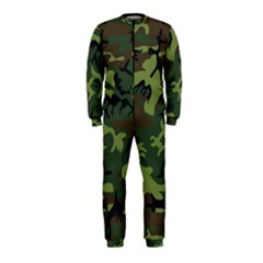 Camouflage Green Brown Black OnePiece Jumpsuit (Kids)