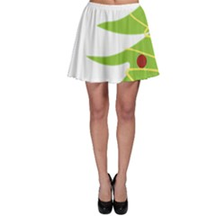 Christmas Tree Christmas Skater Skirt