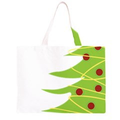 Christmas Tree Christmas Large Tote Bag