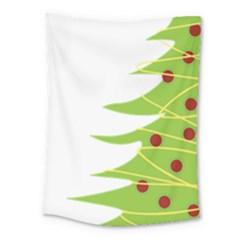 Christmas Tree Christmas Medium Tapestry