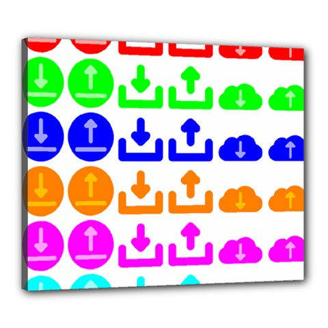 Download Upload Web Icon Internet Canvas 24  X 20