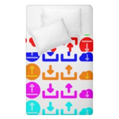 Download Upload Web Icon Internet Duvet Cover Double Side (single Size)
