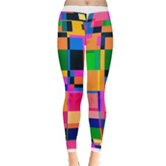Color Focusing Screen Vault Arched Leggings
