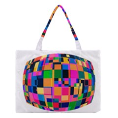 Color Focusing Screen Vault Arched Medium Tote Bag