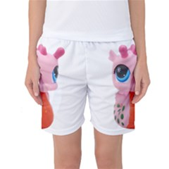 Dragon Toy Pink Plaything Creature Women s Basketball Shorts