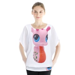 Dragon Toy Pink Plaything Creature Blouse