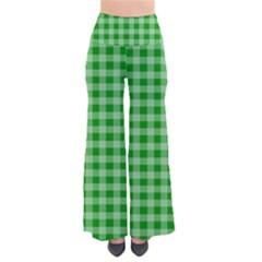 Gingham Background Fabric Texture Pants