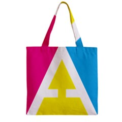 Graphic Design Web Design Zipper Grocery Tote Bag