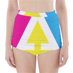 Graphic Design Web Design High-Waisted Bikini Bottoms