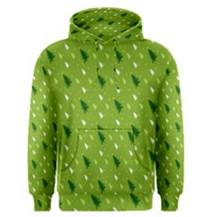 Green Christmas Tree Background Men s Pullover Hoodie