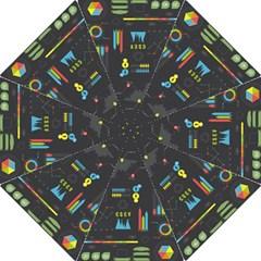 Graphic Table Symbol Vector Chart Folding Umbrellas