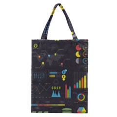 Graphic Table Symbol Vector Chart Classic Tote Bag
