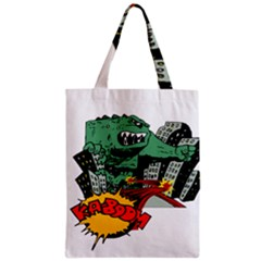 Monster Zipper Classic Tote Bag