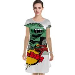 Monster Cap Sleeve Nightdress