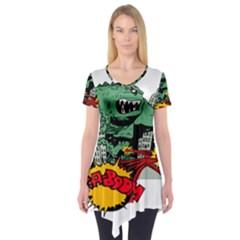Monster Short Sleeve Tunic