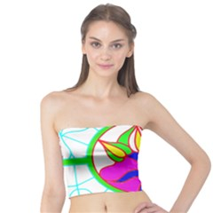 Pattern Template Stained Glass Tube Top