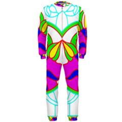 Pattern Template Stained Glass OnePiece Jumpsuit (Men)