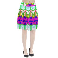 Pattern Template Stained Glass Pleated Skirt