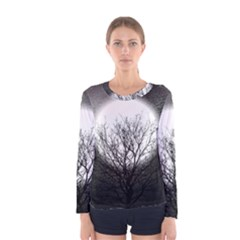 Starry Sky Women s Long Sleeve Tee