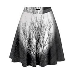 Starry Sky High Waist Skirt