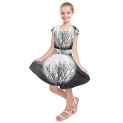 Starry Sky Kids  Short Sleeve Dress
