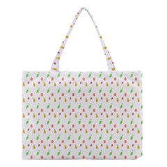 Fruit Pattern Vector Background Medium Tote Bag