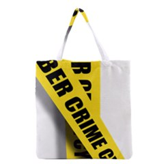 Internet Crime Cyber Criminal Grocery Tote Bag