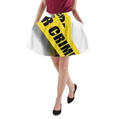 Internet Crime Cyber Criminal A-Line Pocket Skirt