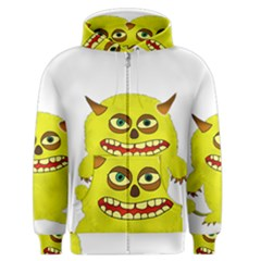 Monster Troll Halloween Shudder Men s Zipper Hoodie
