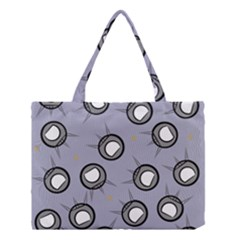Rocket Ship Wallpaper Background Medium Tote Bag