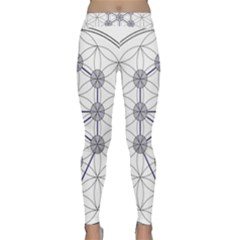 Tree Of Life Flower Of Life Stage Classic Yoga Leggings
