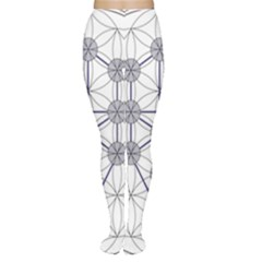 Tree Of Life Flower Of Life Stage Women s Tights
