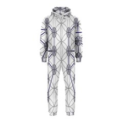 Tree Of Life Flower Of Life Stage Hooded Jumpsuit (Kids)