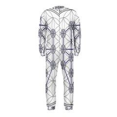 Tree Of Life Flower Of Life Stage OnePiece Jumpsuit (Kids)