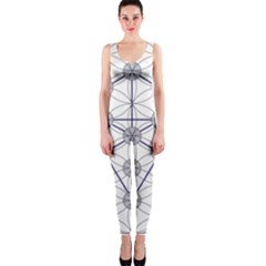 Tree Of Life Flower Of Life Stage OnePiece Catsuit