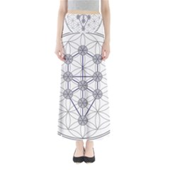 Tree Of Life Flower Of Life Stage Maxi Skirts