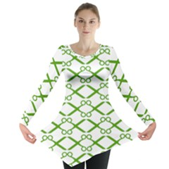 Wallpaper Of Scissors Vector Clipart Long Sleeve Tunic