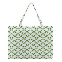 Wallpaper Of Scissors Vector Clipart Medium Tote Bag
