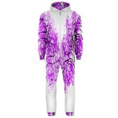Purple Tree Hooded Jumpsuit (Men)