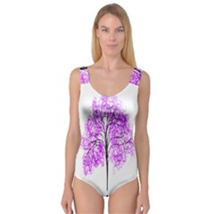 Purple Tree Princess Tank Leotard